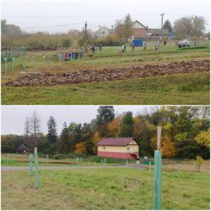 Loni jsme ve Vilémově vysadili 100 ovocných stromů. Letos jich snad bude nejméně dvakrát tolik.